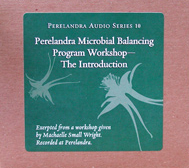 CD: Microbial Balancing Program Workshop — The Introduction