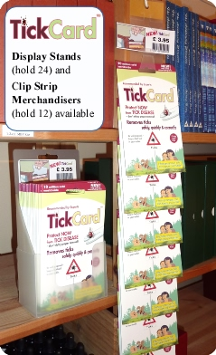 TickCard™ Wholesale Pack of 12 for RETAILERS only