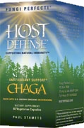 Chaga: 60 Capsules; Fungi Perfecti – Host Defense