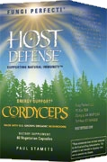 Cordyceps: 60/120 Capsules; Fungi Perfecti – Host Defense