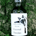 FELINE: EXTERNAL PARASITES – Water in Brandy or Vinegar 2-oz./59.1ml