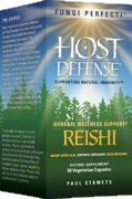 Reishi: 60/120 Capsules; Fungi Perfecti – Host Defense