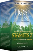 Stamets7®: 60 Capsules; Fungi Perfecti – Host Defense