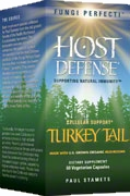 Turkey Tail: 60/120 Capsules; Fungi Perfecti – Host Defense