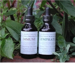 2-bottle Immune and Lymphatic Combo 2-oz. – Water in Brandy or Vinegar 59ml